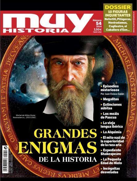 Descargarevistasylibros: Muy Historia Nº54 - Grandes Enigmas de la Historia [Julio-Agosto 2014][PDF][MG-OB-UP]