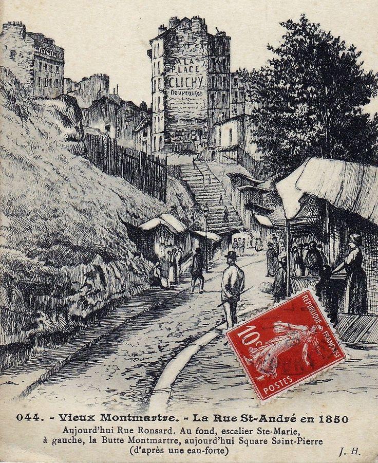 En 1850 quand Montmartre était indépendant!