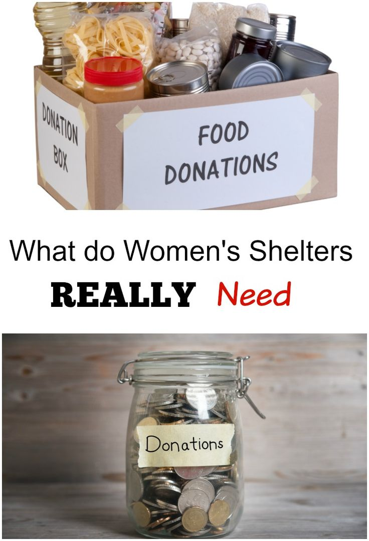 This is such a helpful post about what women's shelters REALLY need. Great for knowing what to donate!