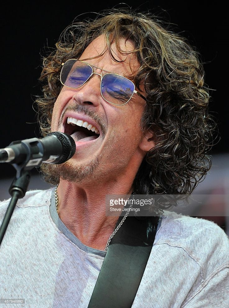 Chris Cornell of Soundgarden performs on Day 2 at the 28th Annual Bridge School Benefit Concert at Shoreline Amphitheatre on October 26, 2014 in Mountain View, California.