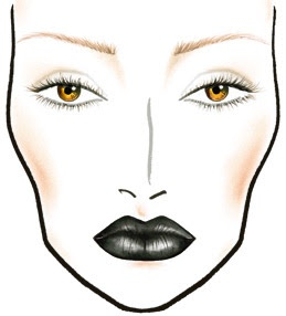 DAZZLE-n-SPARKLE: MAC - STYLE BLACK FACE CHARTS