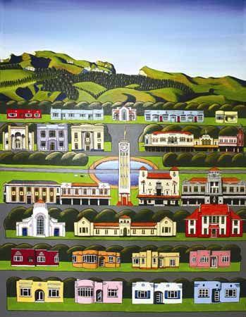 Hastings 2 by Sarah Platt New Zealand Art Prints