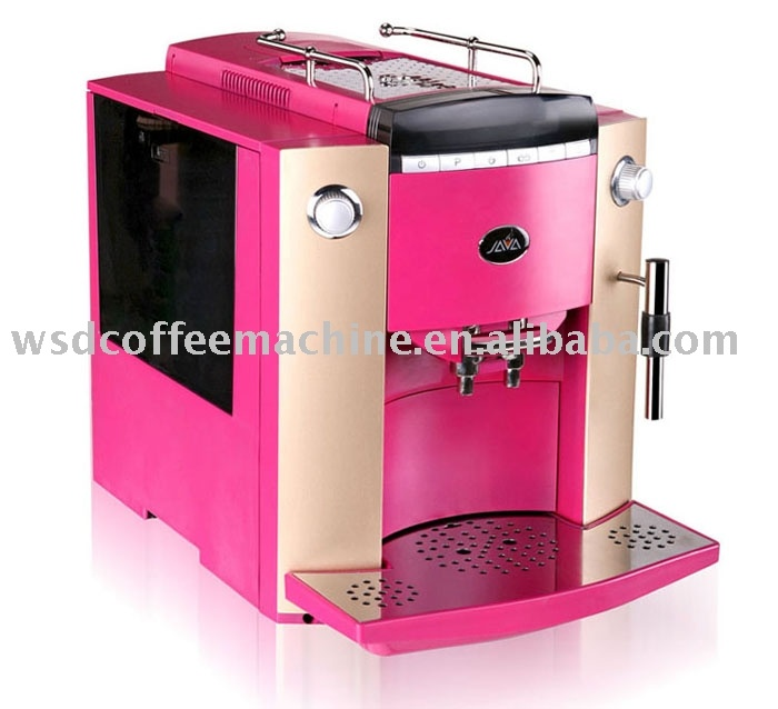 Jazzy coffee maker!Dreams Design, Coffe Maker, Pink Coffee, Maker Style, Coffe Machine Automatic, Coffee Maker, Pink Things, Automatic Pink, Pink Espresso