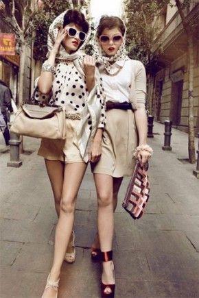 Стиль винтаж — современная мода из прошлого