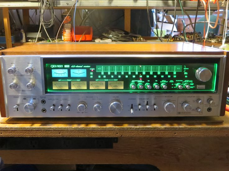 QRX9001   $1875 — Sold. The value people place upon the finest quad receiver ever made.