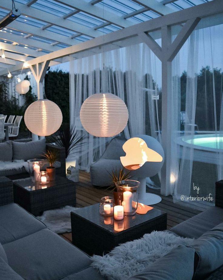 Terrasse – inspiration & design #habitation #vivahabitation #inspirationmaison