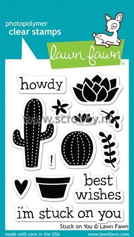 Lawn Fawn Stuck On You Stamp | €7.00