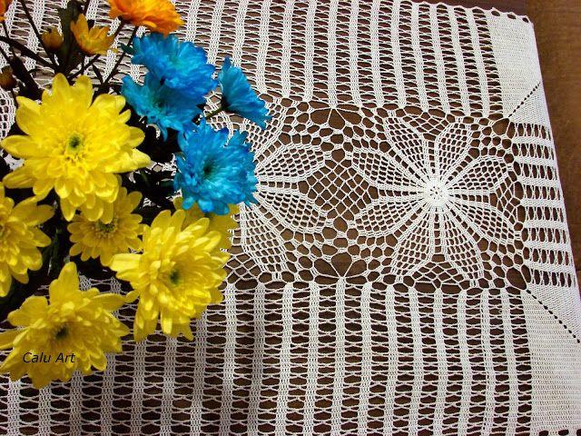Calu Art: serweta na ławę