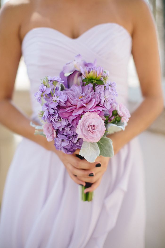 Loving Lavender, Huntington Beach Wedding | Hilton Waterfront Beach Resort | Michelle Kim Photography | A Good Affair Wedding & Event Production #lavender #ocwedding