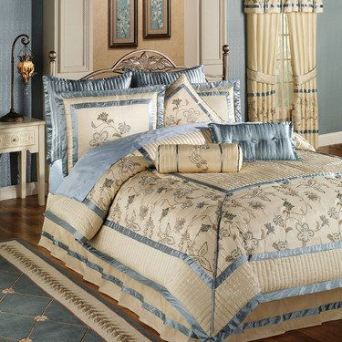 Arden Comforter Set Buttercream  French Country Bedrooms
