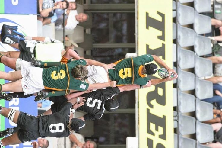 JC Strauss (3) Jnr Springboks vs All Blacks Final vs New Zealand 18 April 2005 Kingspark