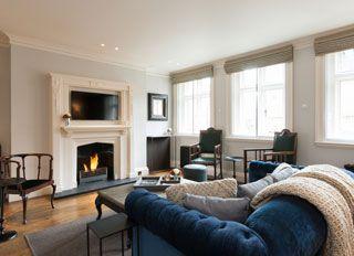 Apartment C - Fireplace