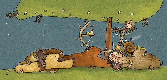 de cómo el ornitorrinco llegó a ser el rey de los animales - óscar villán