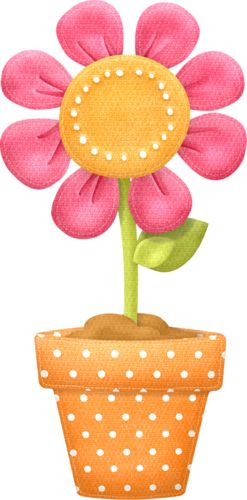 clipart flower in pot - photo #27