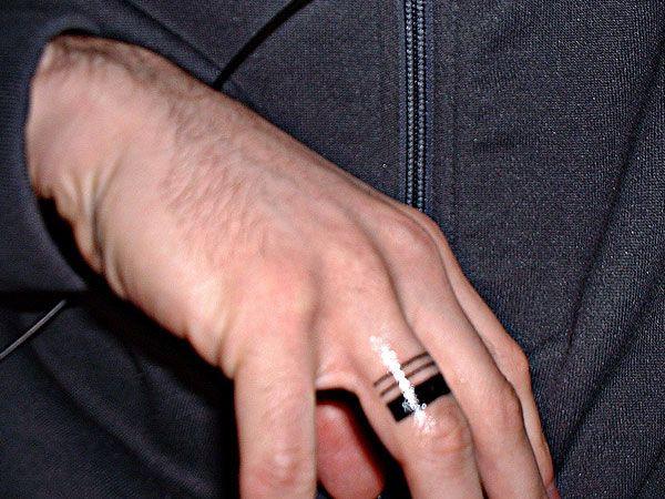 30 Glamorous Wedding Ring Tattoos   SloDive33 best Wedding band tattoos images on Pinterest   Tattoo rings  . Mens Wedding Band Tattoos. Home Design Ideas
