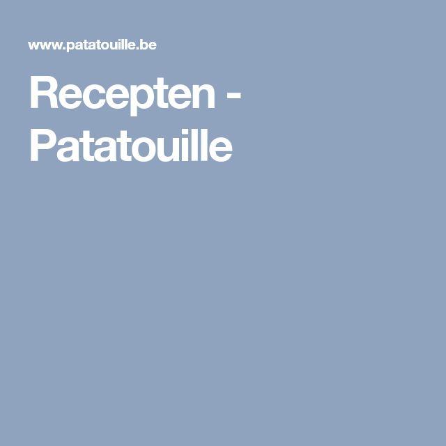 Recepten - Patatouille