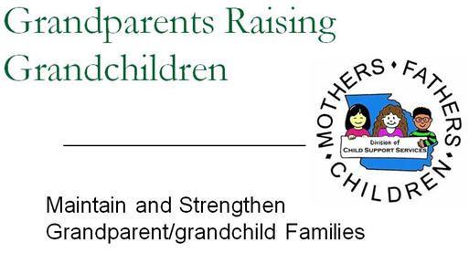 Grandparents Raising Grandchildren | Division of Child Support ...