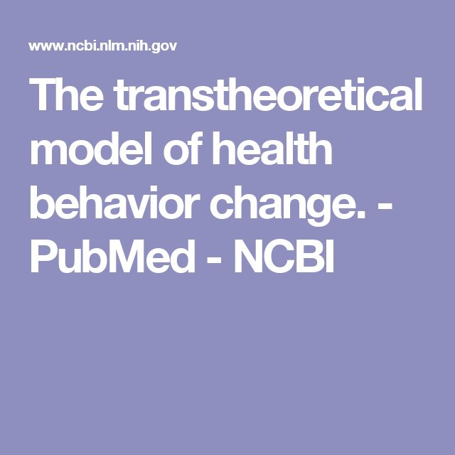 the transtheoretical model of health behaviour One of those goals is increasing responsible sexual health behavior responsible sexual health behaviors include regular condom use,  the transtheoretical model.