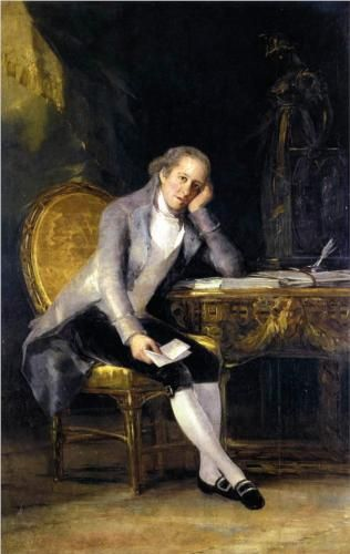 Gaspar Melchor de Jovellanos - Francisco de Goya