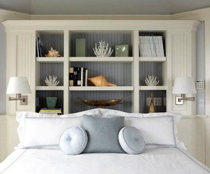 Built In Headboards 157 best ~headboards~ images on pinterest   bedroom ideas