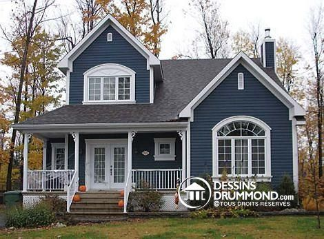 Voyez la concr tisation de votre r ves les plans de for Peinture maison exterieur couleur
