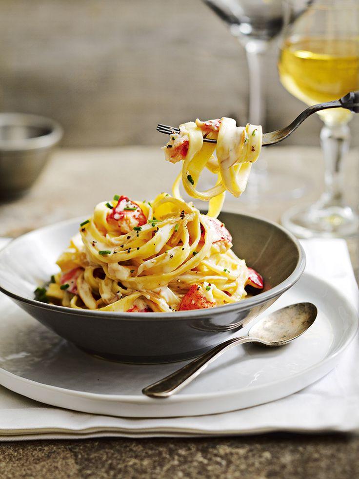 Quand le homard est de la partie, les plats ont toujours du raffinement.
