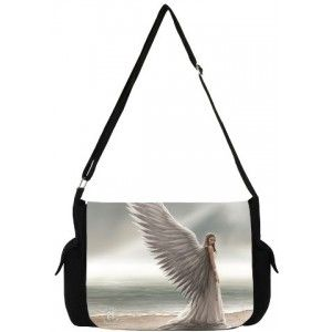 Spirit Guide Angel Messenger Bag by Anne Stokes - New at GothicPlus.com - your source for gothic clothing jewelry shoes boots and home decor.  #gothic #fashion #steampunk