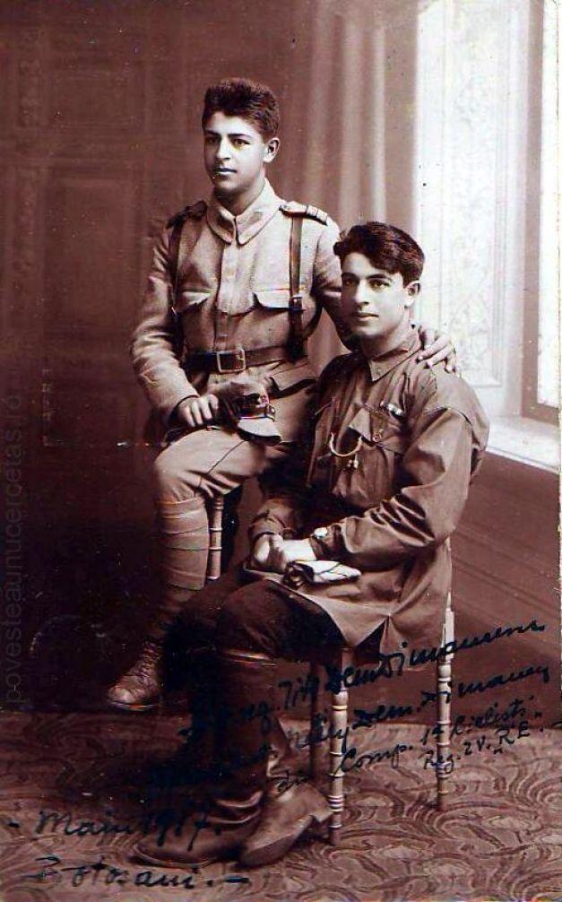 Frații Dimitrie și Ioan Dimăncescu - eroi de război