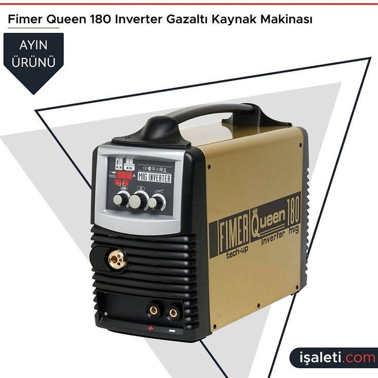 Ayın Ürünü   Fimer Queen 180 Inverter Gazaltı Kaynak Makinası  #isaleticom #isaleti #inverter #welding #gaswelding #machine #goodproducts  #temellermakina #karaköy #kaynakmakinesi #ayınürünü