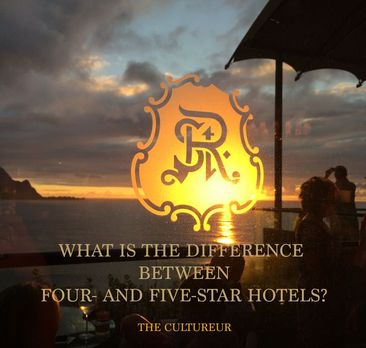 Travel and hospitality professionals weigh in on the age-old question: what's the difference between four and five star hotels?