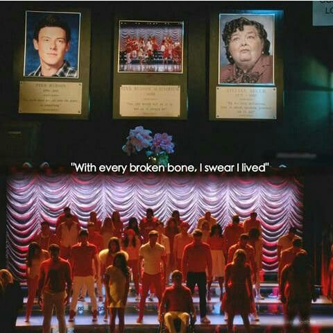Glee is about opening yourself up to joy.