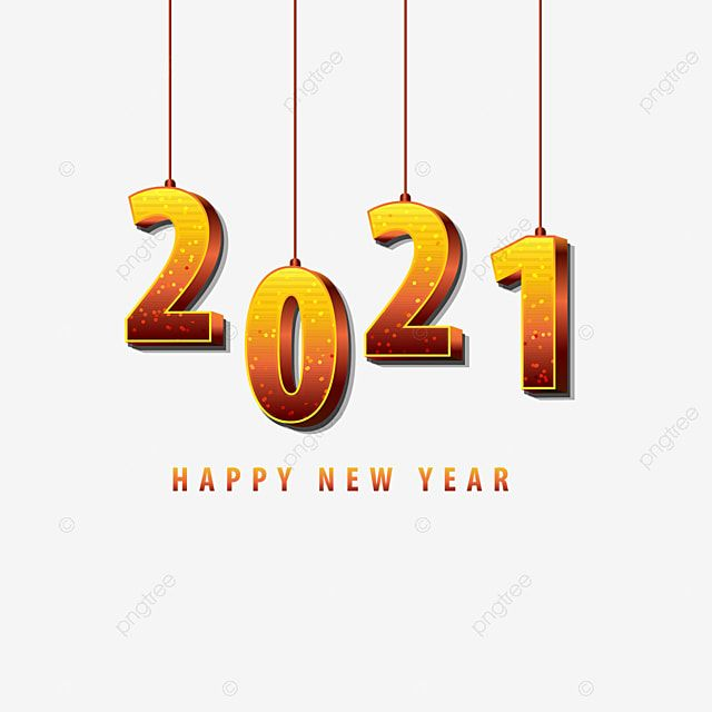 Happy New Year 2021 Merry Christmas Design 2021 Abstract Art Png And Vector With Transparent Background For Free Download Happy New Year Png Happy New Year Photo Newyear