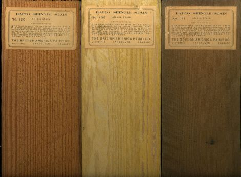 Restoring the Colors of a 1912 Arts & Crafts house: Shingle Stains of 1912   Old House Colors