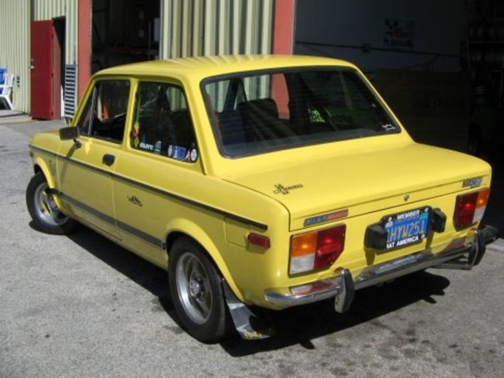 modified with specialty parts from several Fiat models.
