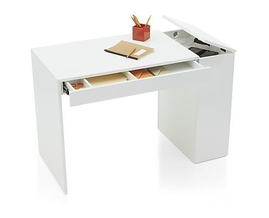 10 Easy Pieces Desks For Small Spaces Shelves Drawers