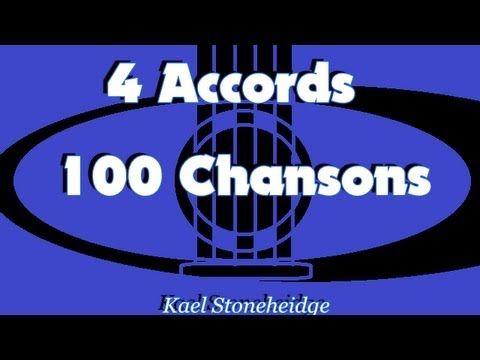 11 Une Chanson Douce - 3 Accords D A7 Em - 4 Accords 100 Chansons Enfants - Guitare Très Débutant - YouTube