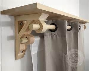 make wooden curtain pole brackets - Yahoo Search Results