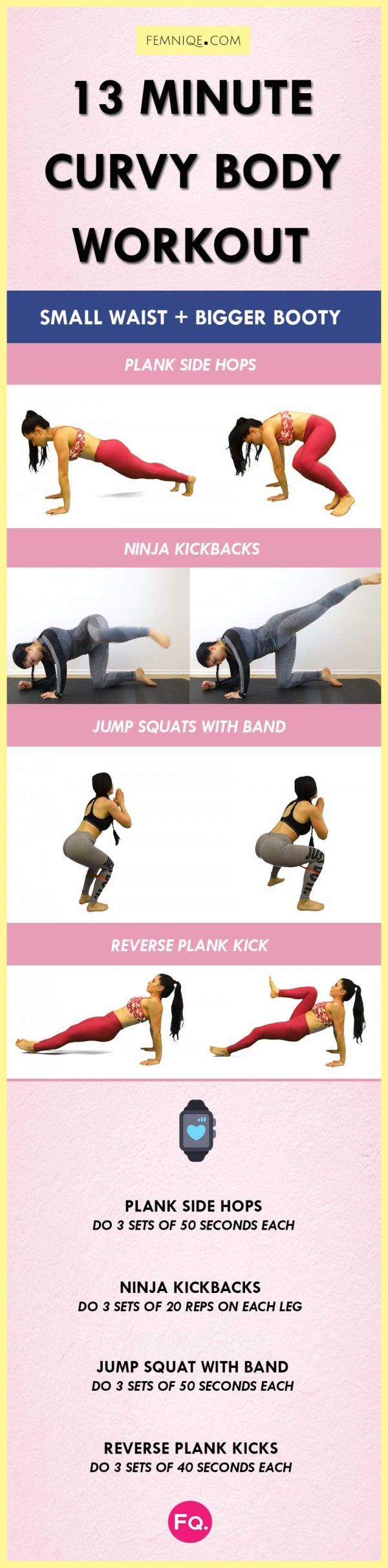 13 Min Curvy Body Workout | Posted By: AdvancedWeightLossTips.com
