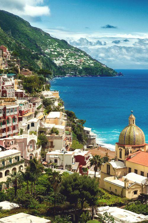 Seaside, Positano, Italy photo via deborah