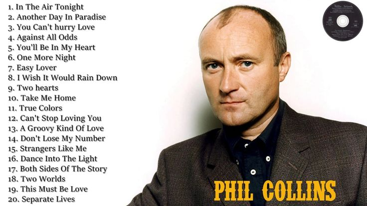 Top Songs of Phil Collins -  Phil Collins Collection Live 2017