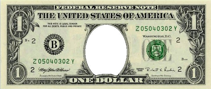 US $1 Money | Festisite