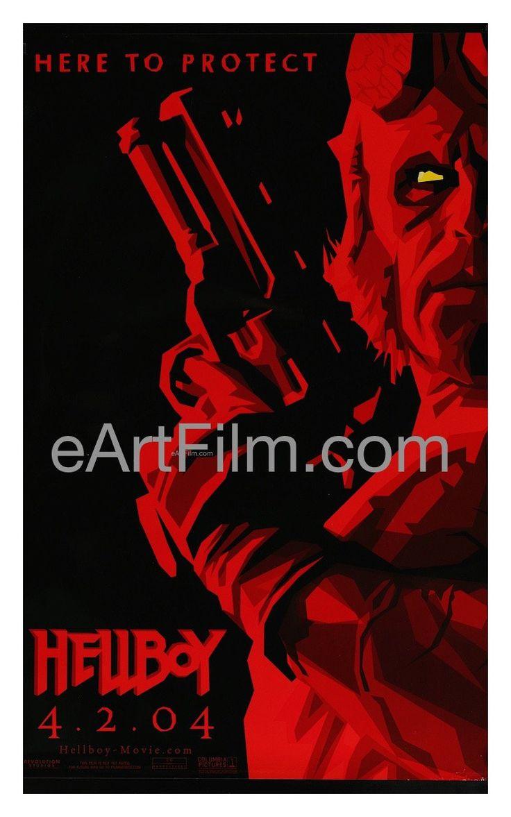 Happy Birthday #JohnHurt https://eartfilm.com/search?q=john+hurt #actors #acting #MidnightExpress #Hellboy #HarryPotter #Alien #WintstonSmith #ElephantMan #movies #posters #movieposters #Film #cinema  Hellboy 2004 26.75x39.75 Original U.S Teaser One Sheet