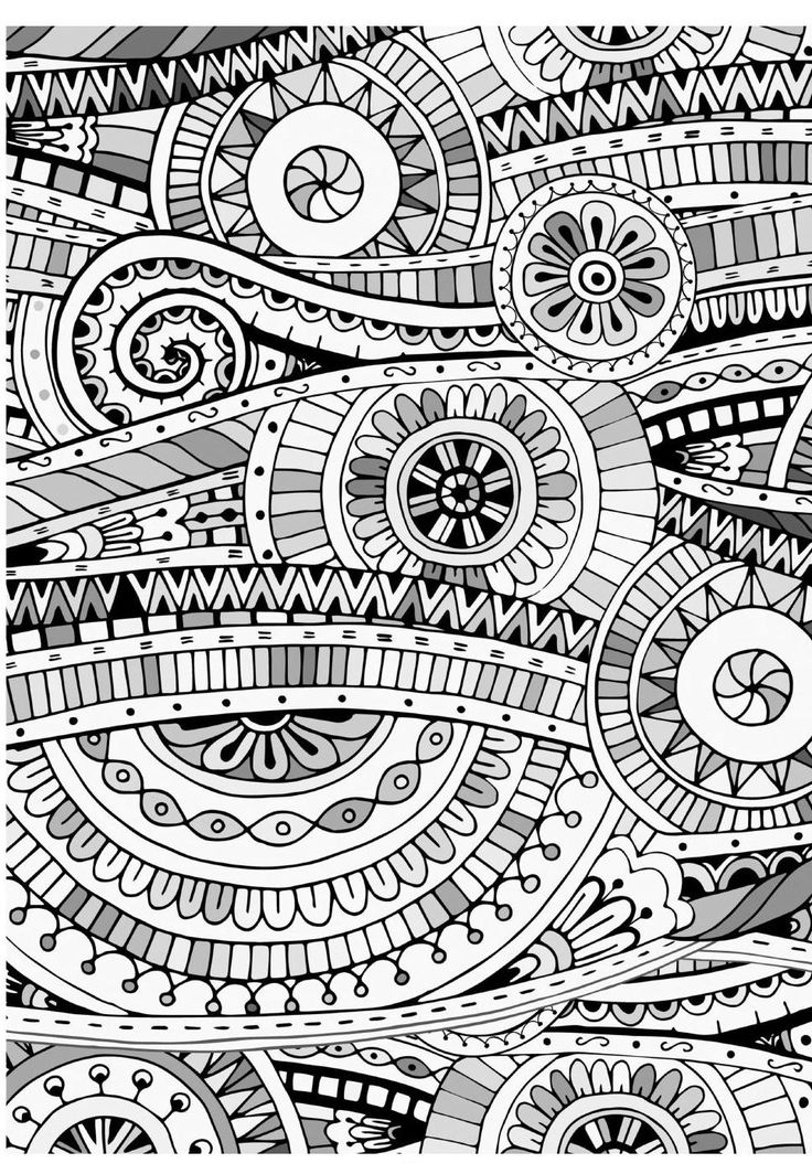 Mind Massage Colouring Book For Adults Mosaic Drawing