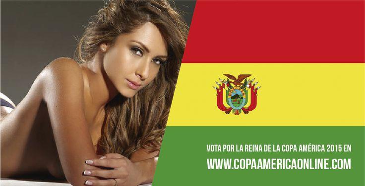 Candidata a Reina de la Copa América 2015, representando a Bolivia Fabiana Villaroel a Votar por tu favorita #ReinaCopaAmerica2015 http://ow.ly/Ojdjq