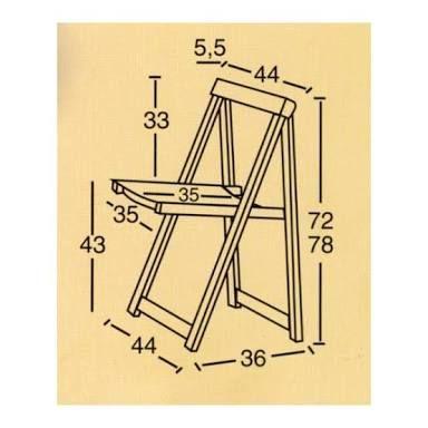 M s de 25 ideas incre bles sobre sillas plegables de for Sillas de madera plegables baratas