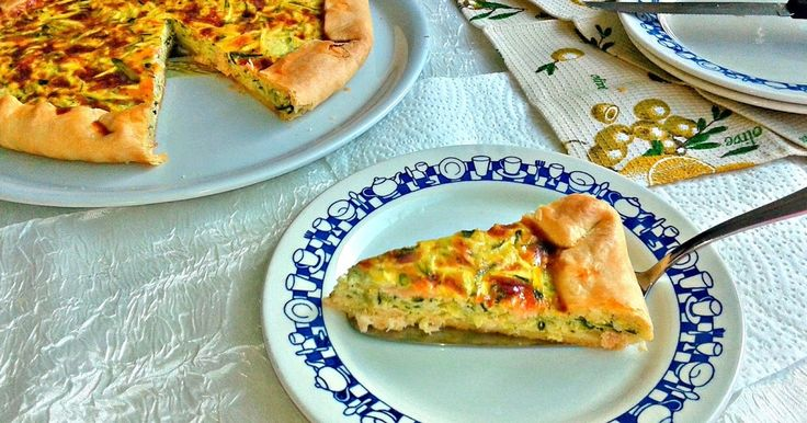 Busy mum's notes: Smoked #salmon and 3zucchini #quiche