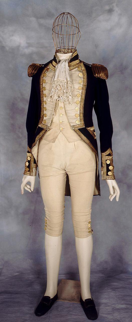 Royal Naval uniform: pattern 1825 - National Maritime Museum. (Great Britain)