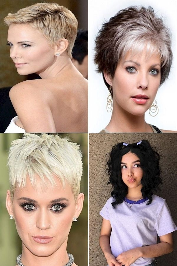 Modern Short Hairstyles Stylish Pixie Haircuts Images Of Different Hairstyles For Short Hair Short Hair Styles Womens Hairstyles Hair Styles