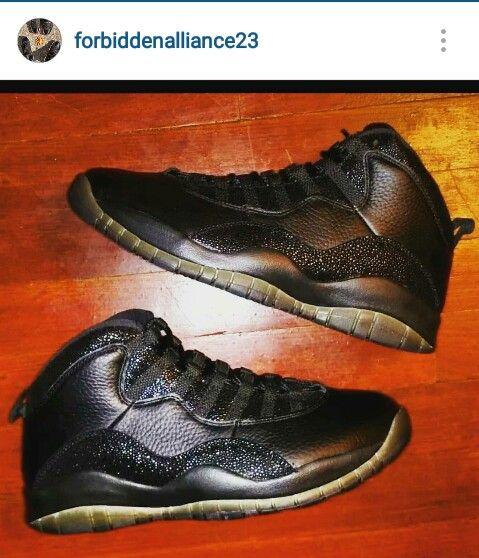 Nike Air Jordan Retro 10 'OVO'  size 8 contact 2163015895 follow us on IG @ForbidenAlliance23  #drake #ovo #jordans #retro10 #drizzy #forsale #men #fashion #shoes