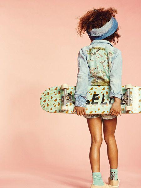 Scotch Rebelle skateboard